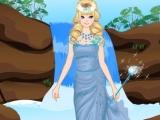 Waterfall Princess Dressing Up