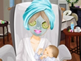 Spa for New Mom