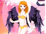 Dress the girl angel