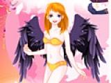 Игра Dress the girl angel
