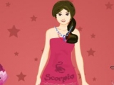 Scorpio Girl Dress Up