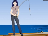 Julie Fishing Girl Dress Up