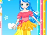 Blue Angel Dress Up