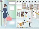 Mega School girl dress up game