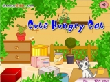 Cute hungry cat
