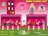 Barbie Flowers Shop