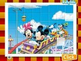 Mickey in Rollercoaster - Set the blocks