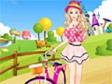 Barbie Bike Ride Dress Up