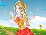 Gorgeous Flower Princess