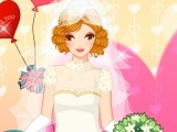 The White Bride Dress Up Game