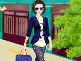 Stylish Fashion Model Dress Up Game