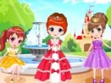 Three Elated Royal Sisters