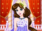 Dress Princess Up For A Dance Party