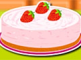 Creamy Strawberry Mint Pie