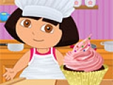 Игра Dora Perfect Cupcake Swirl