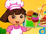 flash игра Dora Fun Cafe