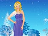 Ice Flower Princess Dress Up