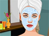Katy Perry Spa Facial Makeover