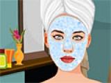 Katy Perry Spa Facial Makeover