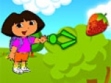 Dora Catching Snacks