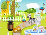 Игра Zoo Clean Up