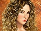 Shakira make up