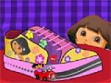 flash игра Dora Lovely Sneaker