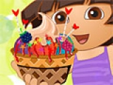 Игра Dora Ice Cream Decor