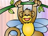 Cartoon Monkey Coloring