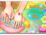 Игра Summer Nails Spa