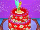 Tinkerbel Birthday Cake Decor