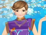 Oriental Influence Fashion Dress Up