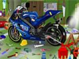 Moto Garage Cleanup