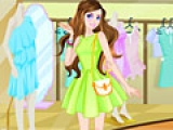 Игра Fashionable Shopping Girl