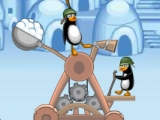Игра Crazy Penguin Catapult