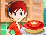 Sara's Cooking Class: Клубничный Чизкейк