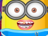 Игра Baby Minion at the Dentist