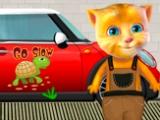 Рыжик на автомойке