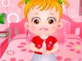 Малышка Хейзел: проблемы с желудком