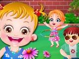 Малышка Хейзел и Друзья в Саду