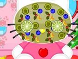 Игра Макияж Hello Kitty на Рождество