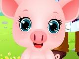 Работа Ветеринаром - Малыш Свин