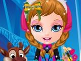 Малышка Барби: Костюмы из «Холодное Сердце»