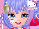 Игра Hello Kitty и Малышка Барби