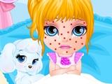 Малышка Барби Заболела Ветрянкой