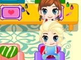 Игра Салон маникюра маленькой Анны