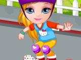 Малышка Барби: происшествие со скейтом