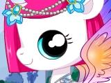 Блистательные питомцы: маленькая пони