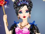 Мистическая темная принцесса