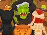Страшное хеллоуинское заклятие